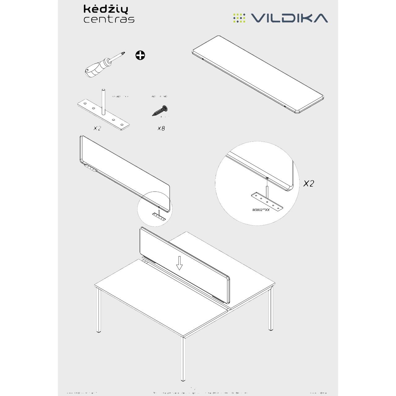 Unika biuro baldai || Kėdžių centras || Vildika