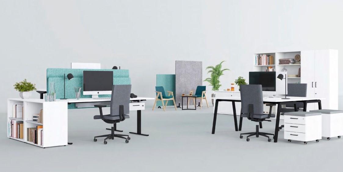 Akustinės pertvaros su ratukais || Stalo pertvara || Akustiniai biuro sprendimai || Biuro baldai || Akustika || Aciustic panel || Akustiniai skydai panelės sienutės