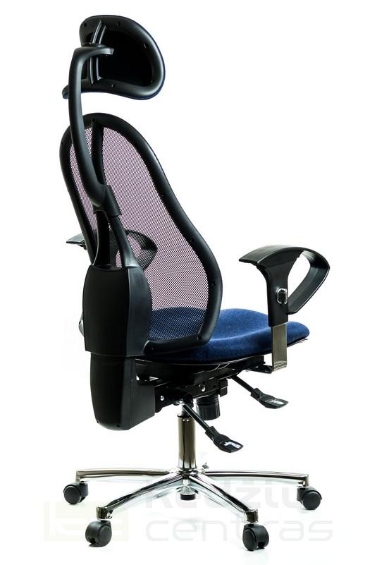 Ergonominė aktyvaus sėdėjimo biuro kėdė || Sėdėjimas ant kamuolio || Kėdžių centras