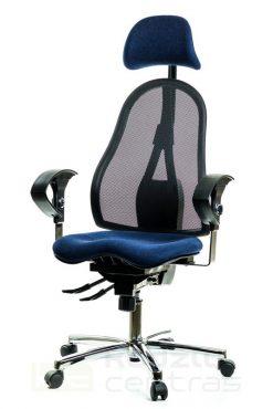 Ergonominė biuro kėdė su pogalviu