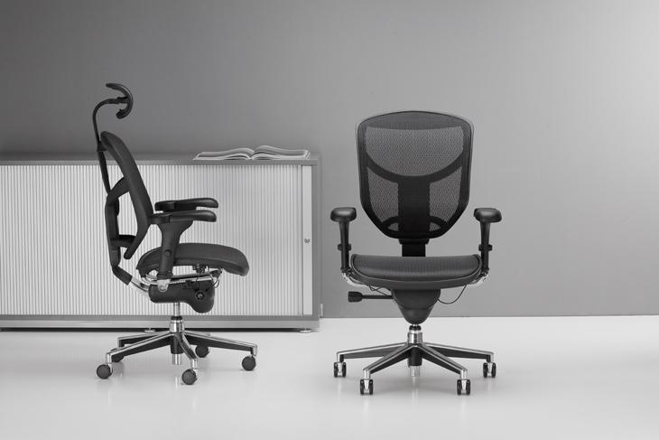 Tinklinio audinio biuro kėdė || 8 val. sėdėjimo darbo kėdė