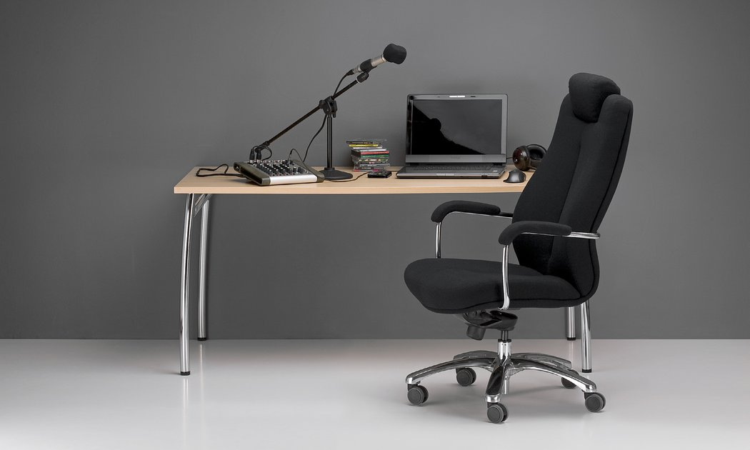 Odinė biuro kėdė XXL || Vadovo darbo baldai || Kėdė dideliam svoriui || Kėdė didelio svorio žmonėms || Kėdė sunkiasvoriams