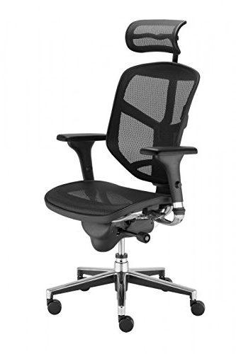 Biuro kėdė ENJOY-Juoda-0
