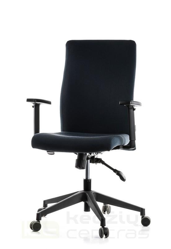 Biuro kėdė Simple-Juoda-0