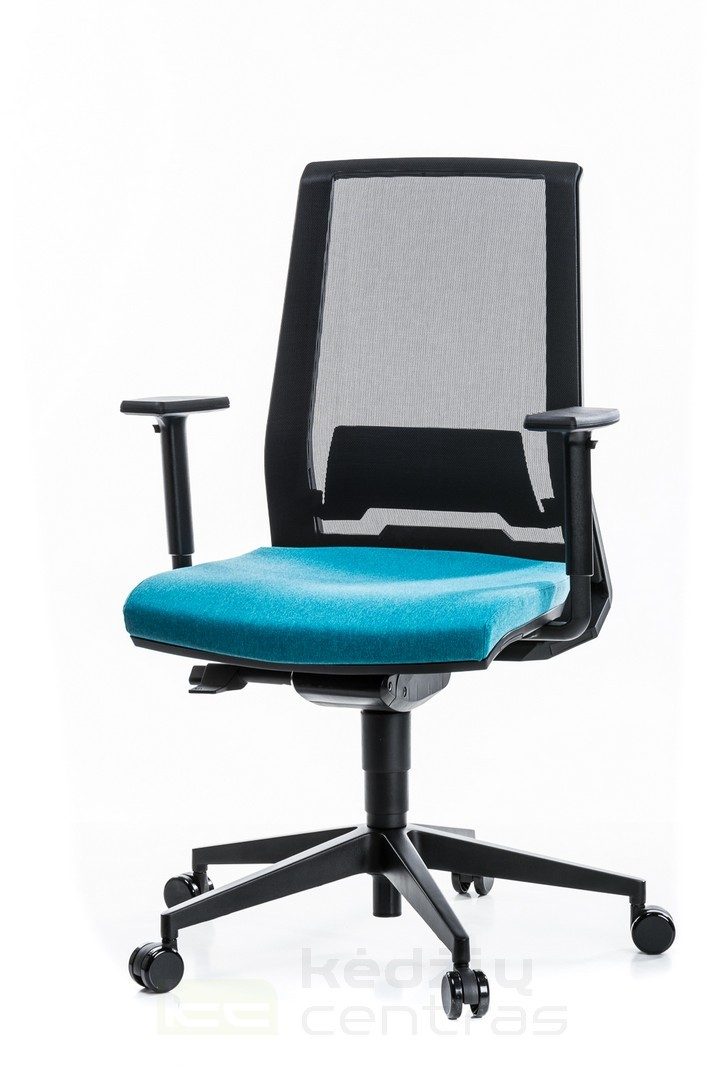 Biuro kėdė LOOK-Mėlyna-0