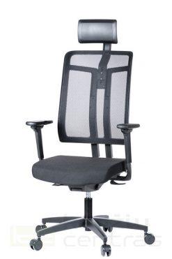 Ergonominė biuro kėdė W7 || Darbo kėdė su pogalviu || Office chair