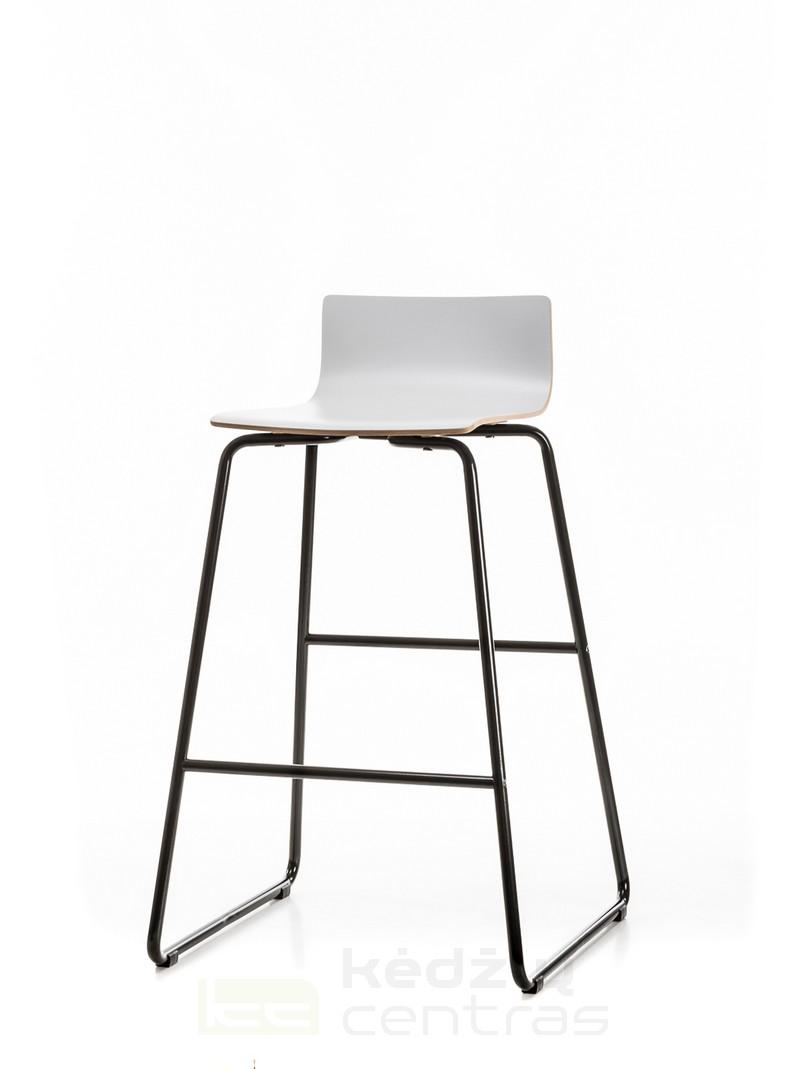 Baro kėdė CAFE-Pilka-0