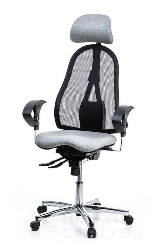 Ergonominė kėdė SITNESS 45 - pilka L53-0