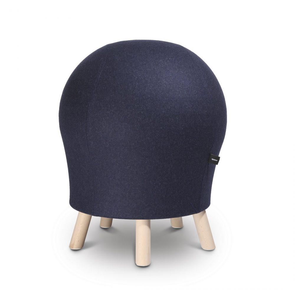 Aktyvaus sėdėjimo kėdė Sitness 5 Alpine-Tamsiai Mėlyna L58-0