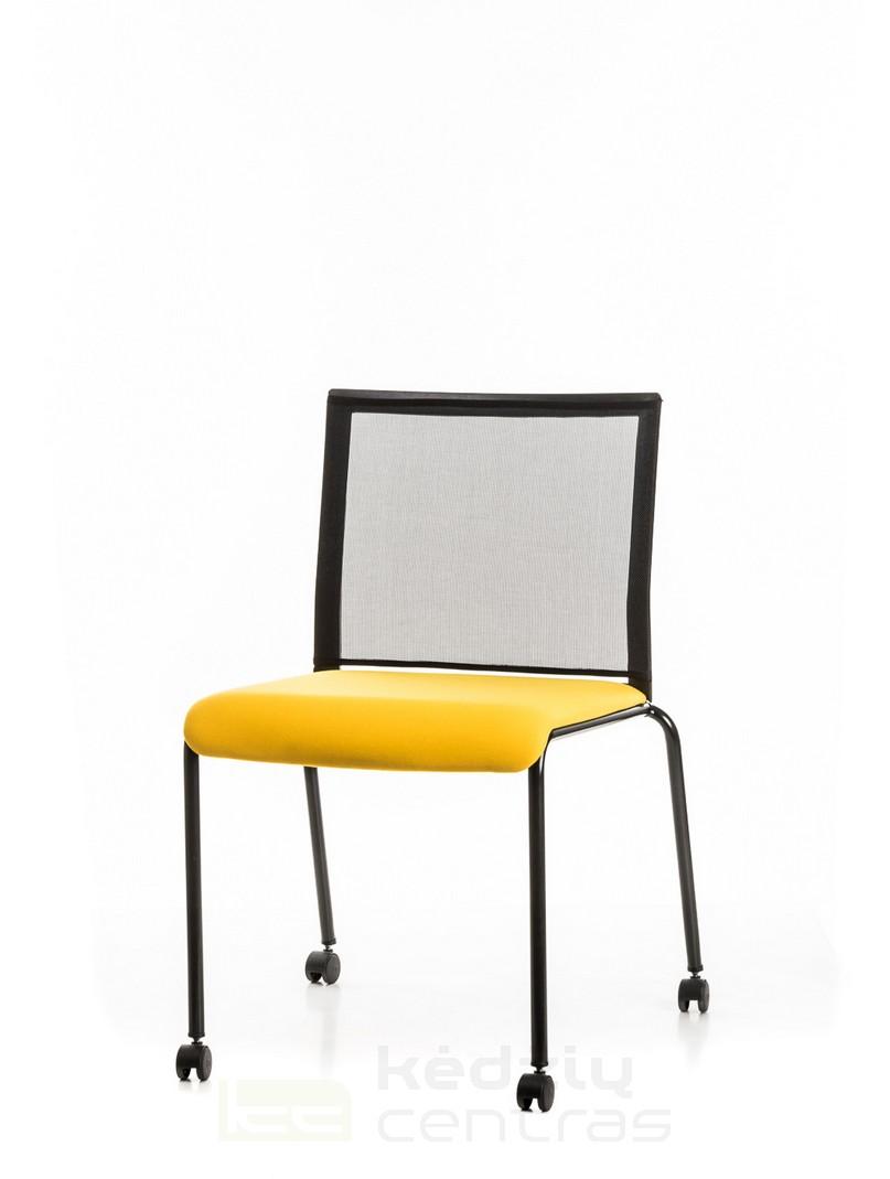 Lankytojo kėdė TECKEL-Juoda-0