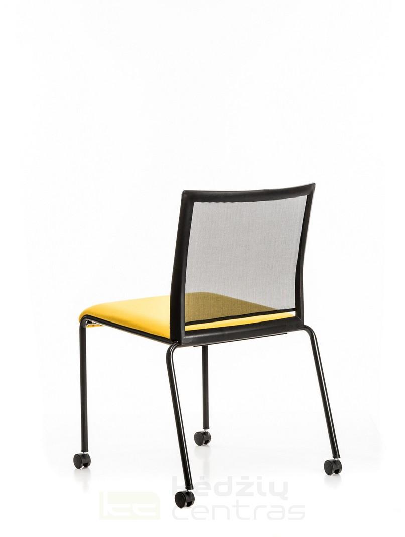 Lankytojo kėdė TECKEL-Juoda-6090
