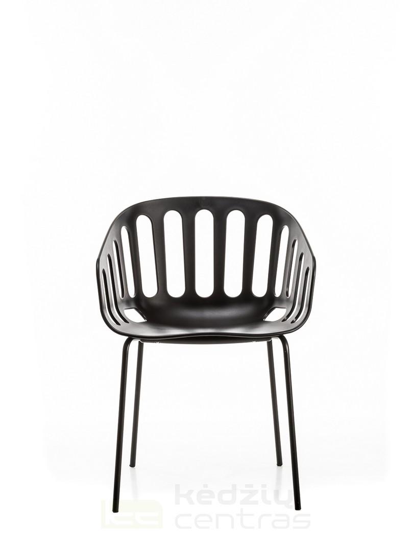 Lankytojo kėdė BASKET-Juoda-6062