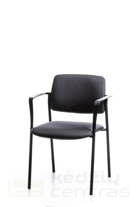 Lankytojo kėdė - Cube, juoda SM01-0