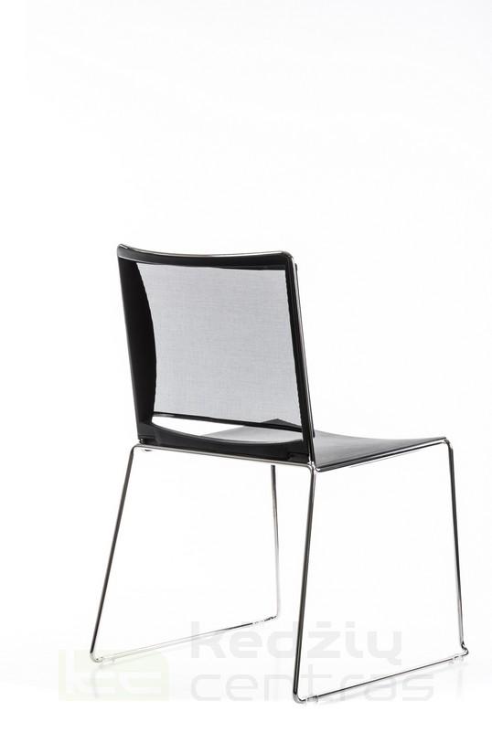 Lankytojo kėdė FILO NET-Juoda-6615