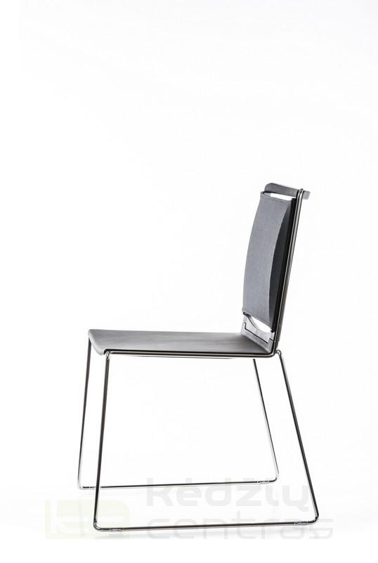 Lankytojo kėdė FILO NET-Juoda-6608