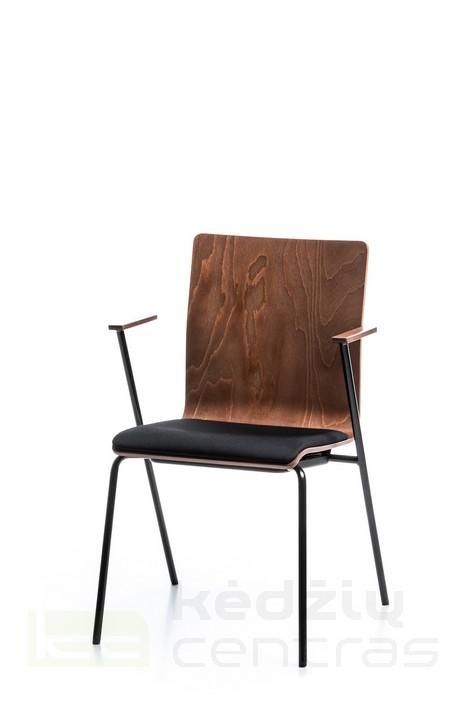 Lankytojo kėdė - FEN 4L-ARM-Ruda SP02-0
