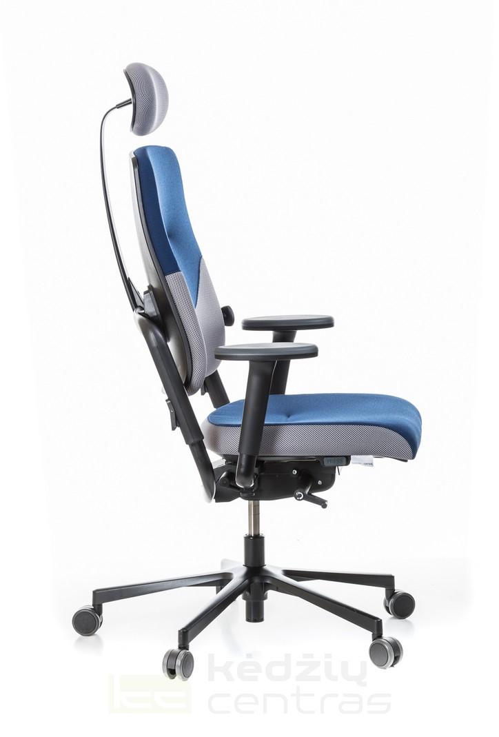 Ergonominė biuro kėdė su pogalviu || Vadovo darbo kėdė || Ergonomic chairs || Kėdžių centras