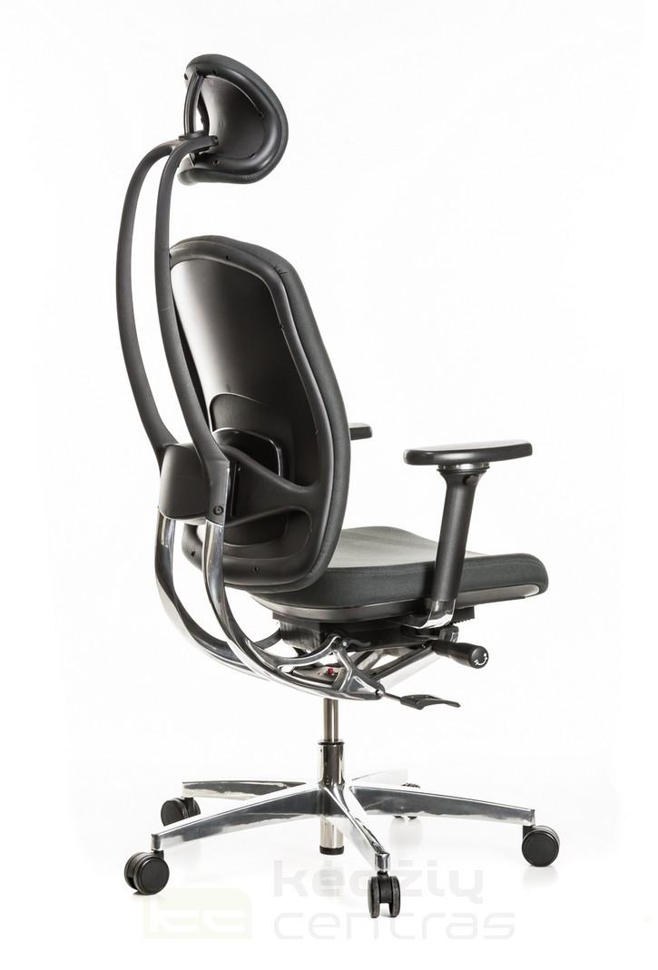 Ergonomiška kėdė ALUMEDIC 20-Pilka-6154