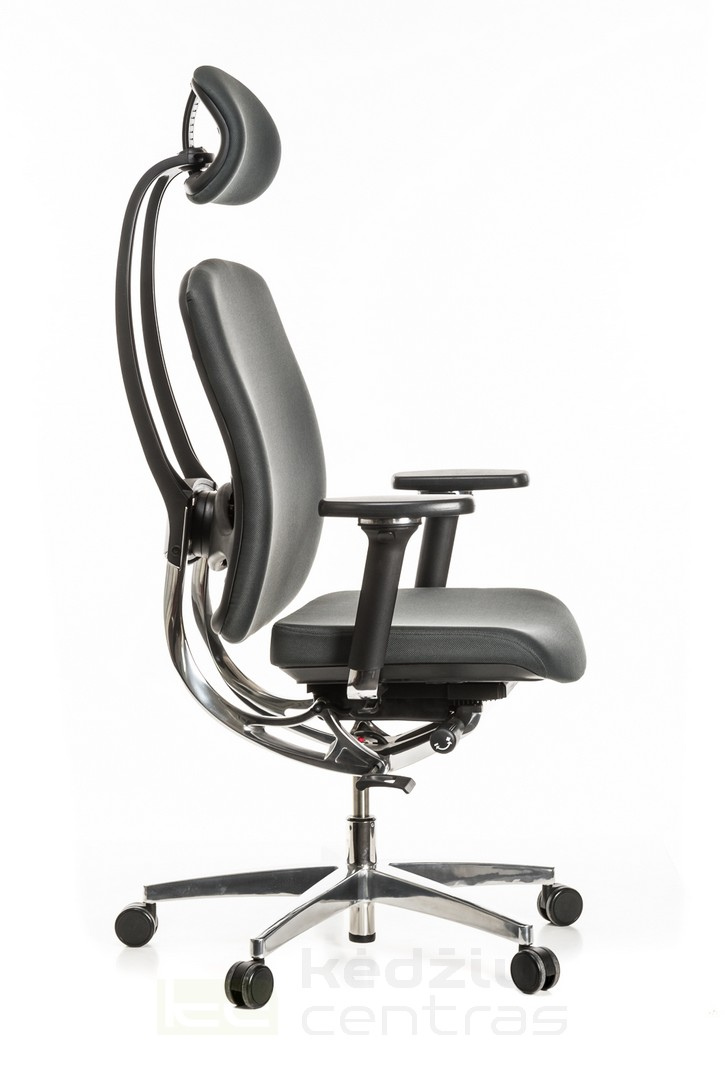 Ergonomiška kėdė ALUMEDIC 20-Pilka-6156