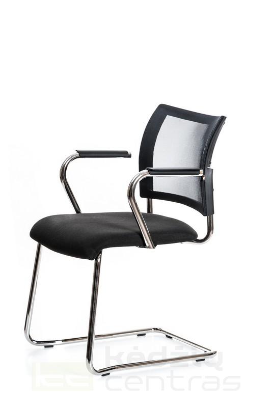 Lankytojo kėdė VISIT 20 su porankiais – Juoda G20-5126