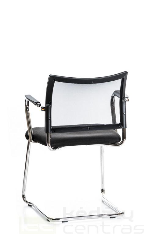 Lankytojo kėdė VISIT 20 su porankiais – Juoda G20-5131
