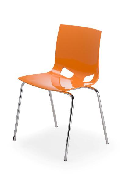 Lankytojo kėdė FONDO – Oranžinė S14-0