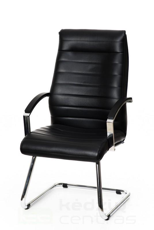 Lankytojo kėdė LYNX – Juoda-0