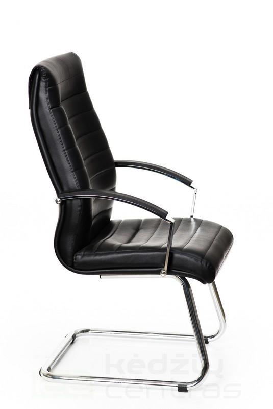 Lankytojo kėdė LYNX – Juoda-1823