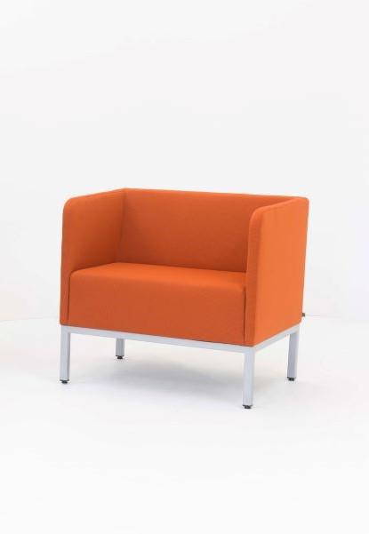 Minkštasuolis MILDA 1-Oranžinė-0