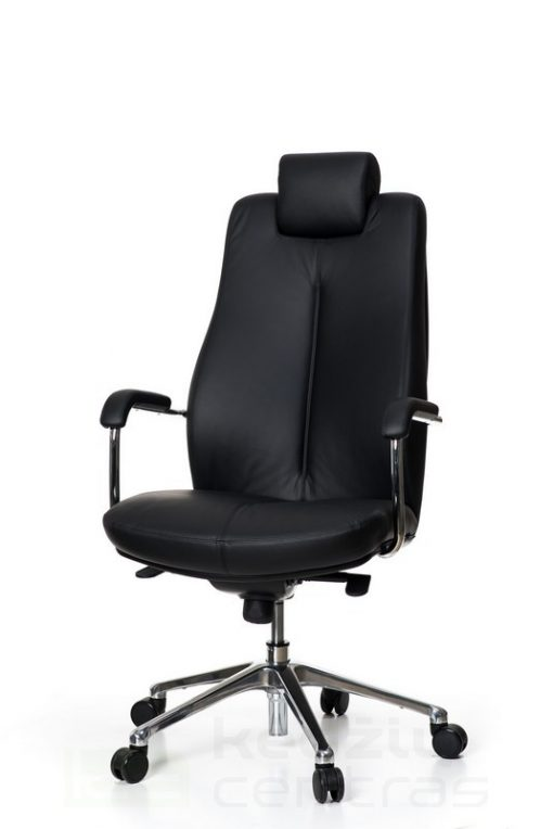 Odinė biuro kėdė sunkiasvoriams