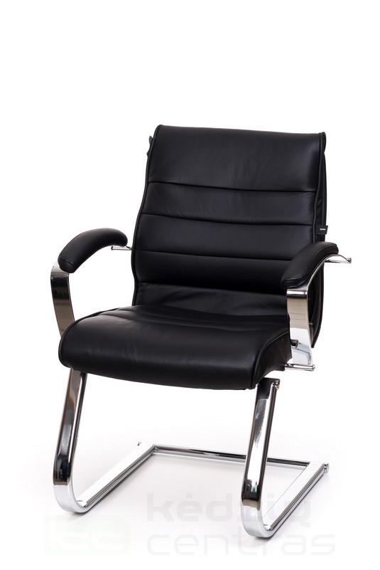 Odinė lankytojų biuro kėdė