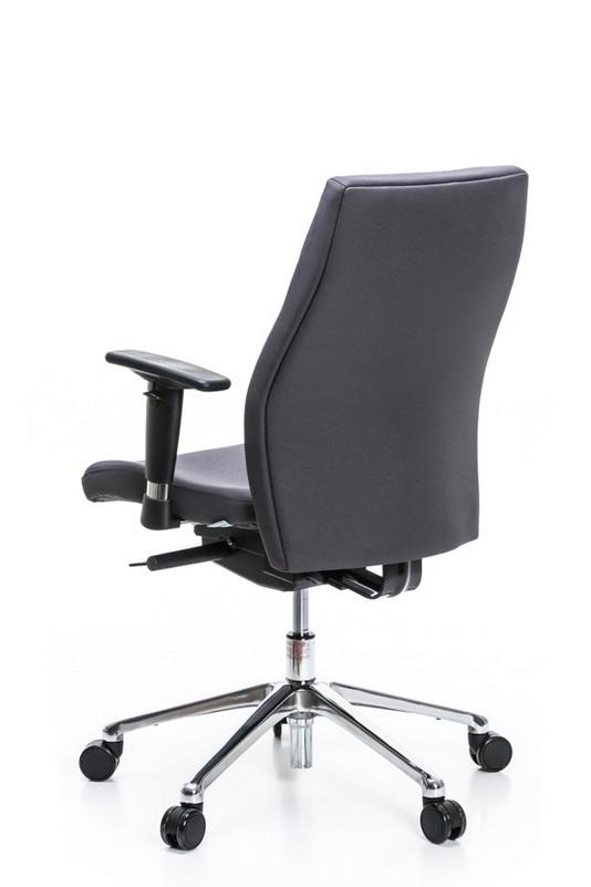 Darbuotojo kėdė Orlando UP – Tamsiai Pilka SM02-2424