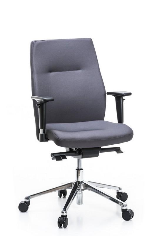 Darbuotojo kėdė Orlando UP – Tamsiai Pilka SM02-2434