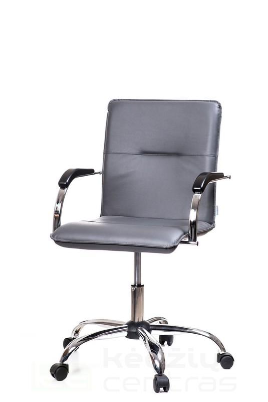 Biuro kėdė SAMBA GTP – Tamsiai Pilka V02-0