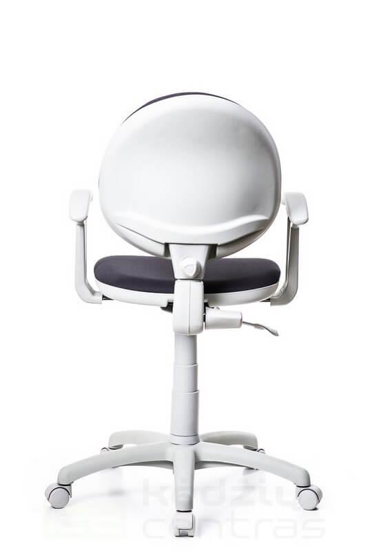 Biuro kėdė SMART su porankiais – Tamsiai Pilka SM02-4168