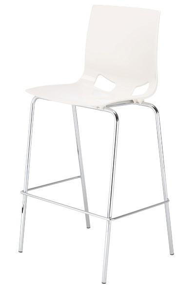 Baro kėdė FONDO HOCKER – Balta W503-0