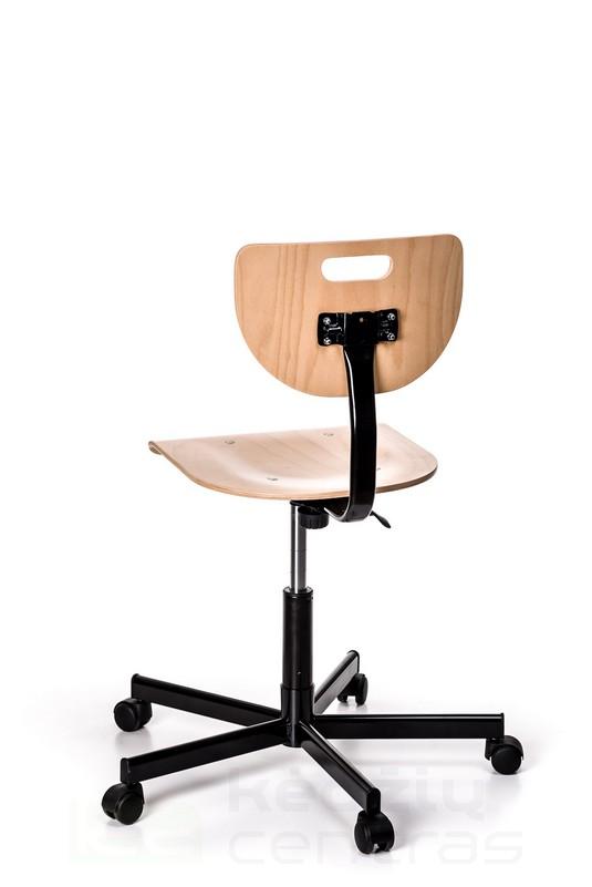 Speciali kėdė WEREK STEEL - Buko spalvos-2974