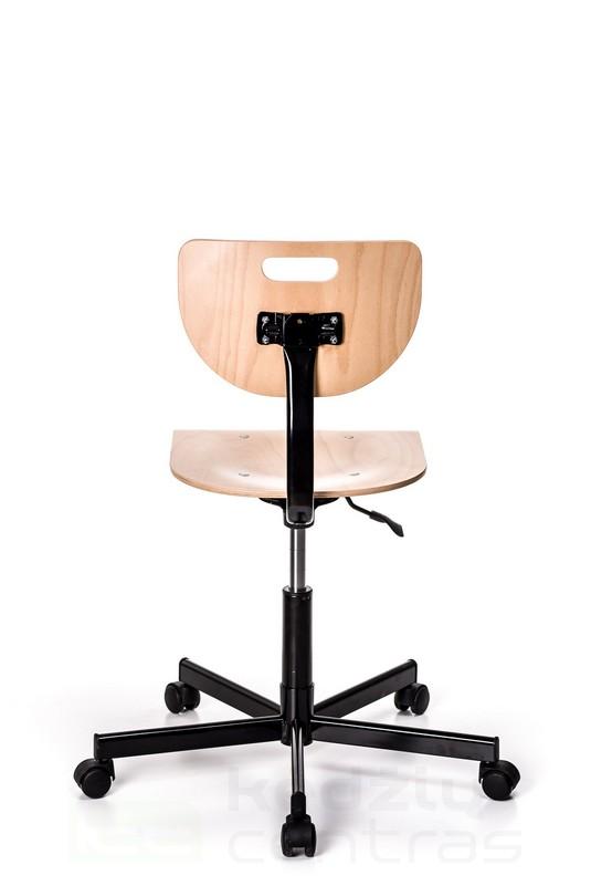 Speciali kėdė WEREK STEEL - Buko spalvos-2975