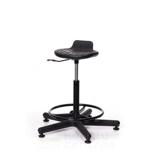 darbo kėdė, kėdė be nugaros atlošo, kėdė be nugarėlės, kėdė, kėdės sėdimoji dalis, darbo kėdės bazė, kėdė su pakoju, kėdė su atrama kojoms, kėdė lanku kojoms, kėdė su žiedine atrama kojoms, atspari sėdimoji dalis,