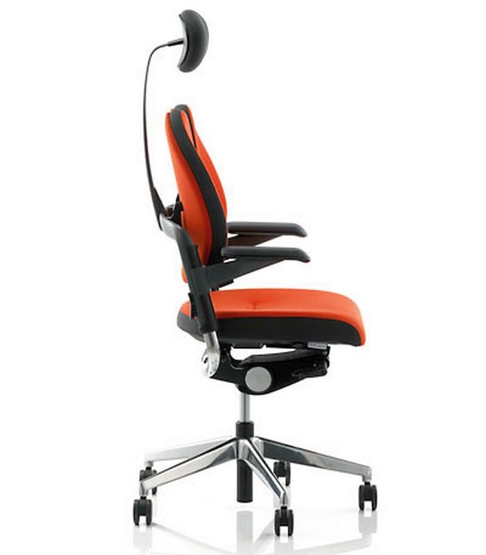 Vadovo kėdė - XENIUM-DUO BACK®-Raudona SM01-4896
