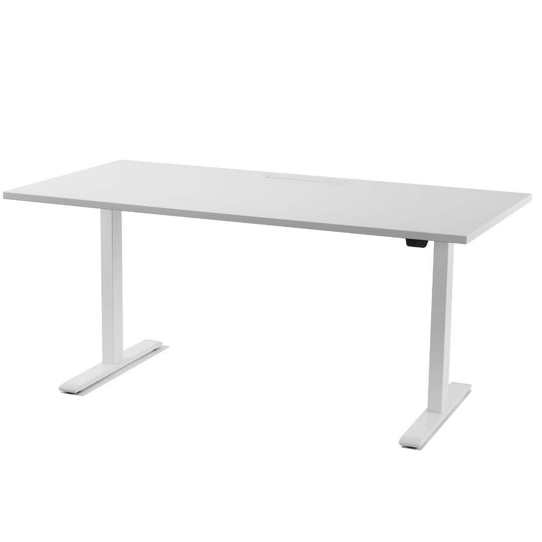 Pakeliamas stalas Elektra valdomas stalas || Reguliuojamo aukščio stalas || Sit stand desk || Kėdžių centras
